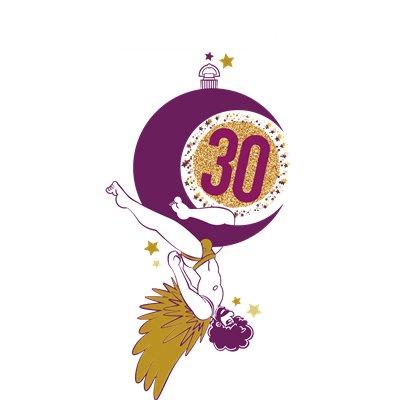Official La Demence 30th Anniversary T-shirt: Acrobat