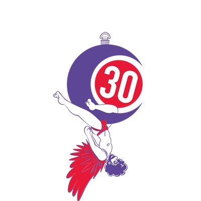 La Demence 30th Anniversary T-shirt: Acrobat
