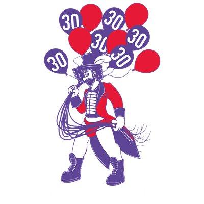 La Demence 30th Anniversary T-shirt: Circus