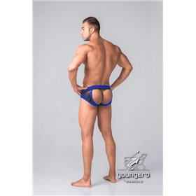 Addikt American Hero Leather Jockstrap Zip