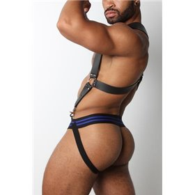 MASKULO - Holster Chest Harness Royal Blue