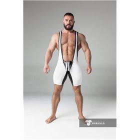 MASKULO -  Shorts Codpiece Open Rear Neon Green - Multiple Sizes