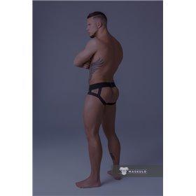 MASKULO - Wrestling Singlet Codpiece Royal Blue