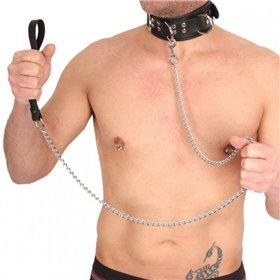 MASKULO - Fetish Trunks Codpiece Zippered Rear White