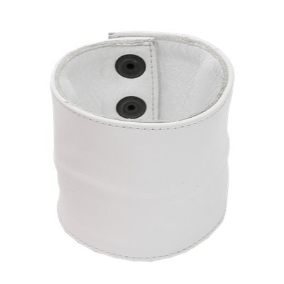 Addikt Smooth Leather Wristwallet: White